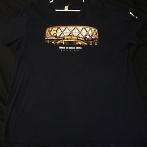 Navy Blue Golden State Oracle Arena Shirt Size XL